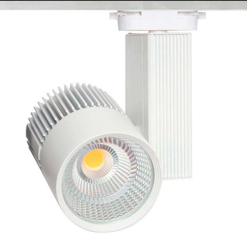 Foco carril CRONOLUX RAIL LED blanco 35W, Blanco cálido